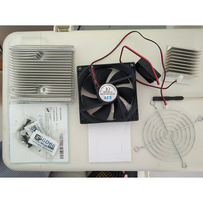 Thermoelectric Peltier Cooler Refrigeration Semiconductor Cooling System Kit Computer Components with 12706 Cooling Peltier