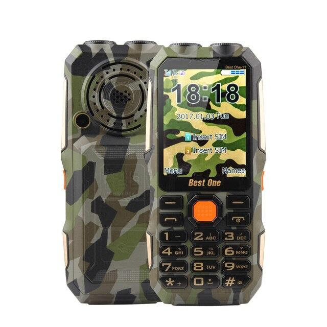 Old Man Phone Big Magic Voice Russian Key Button Dual Flashlight