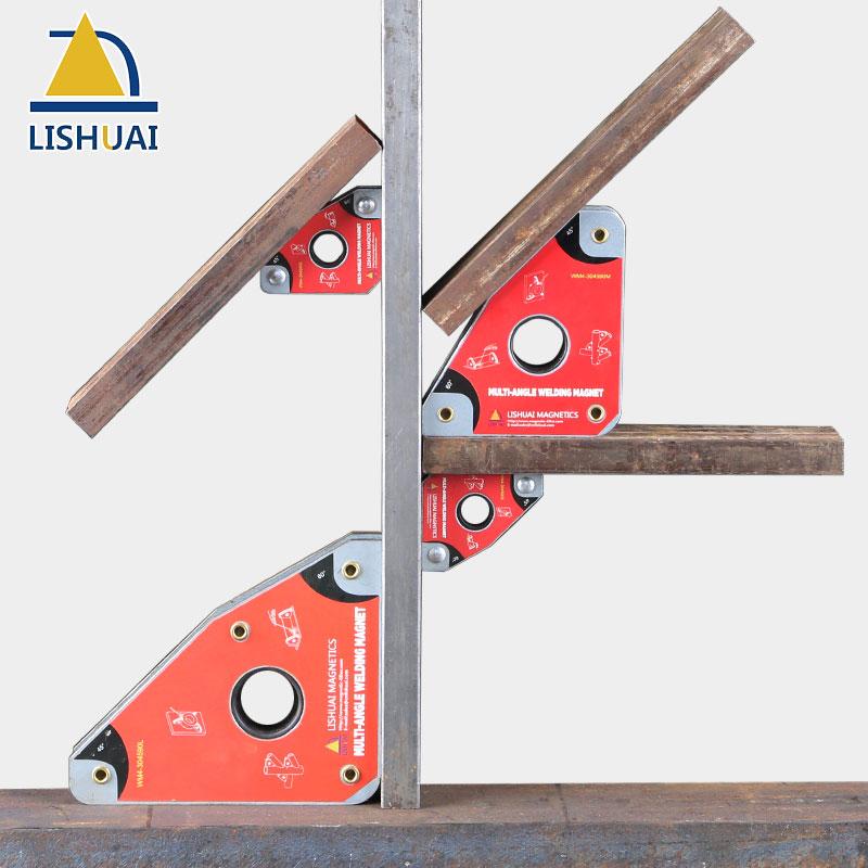 LISHUAI Multi-Angle Magnetic Welding Clamp/Strong Neodymium Magnet Welding Holder WM4 lishuai multi angle switchable magnetic holder strong power ndfeb welding magnets clamp