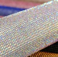 גיליונות מדבקת יהלומים מלאכותיים בלינג DIY מקרה טלפון יוקרתי לנעלי מדבקת רעיונות קישוט תפאורה דבק עצמי 24x40 ס