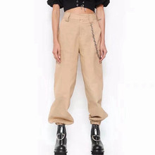 2019 fashion woman camo pants women cargo high waist pants loose trousers joggers women camouflage sweatpants pantalones mujer