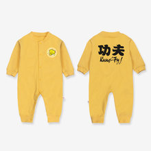 8f08ba1f15c XINI MOMMY office store Unisex Cotton chinese Kung fu uit baby new born baby  clothes baby girl romper baby winter clothes
