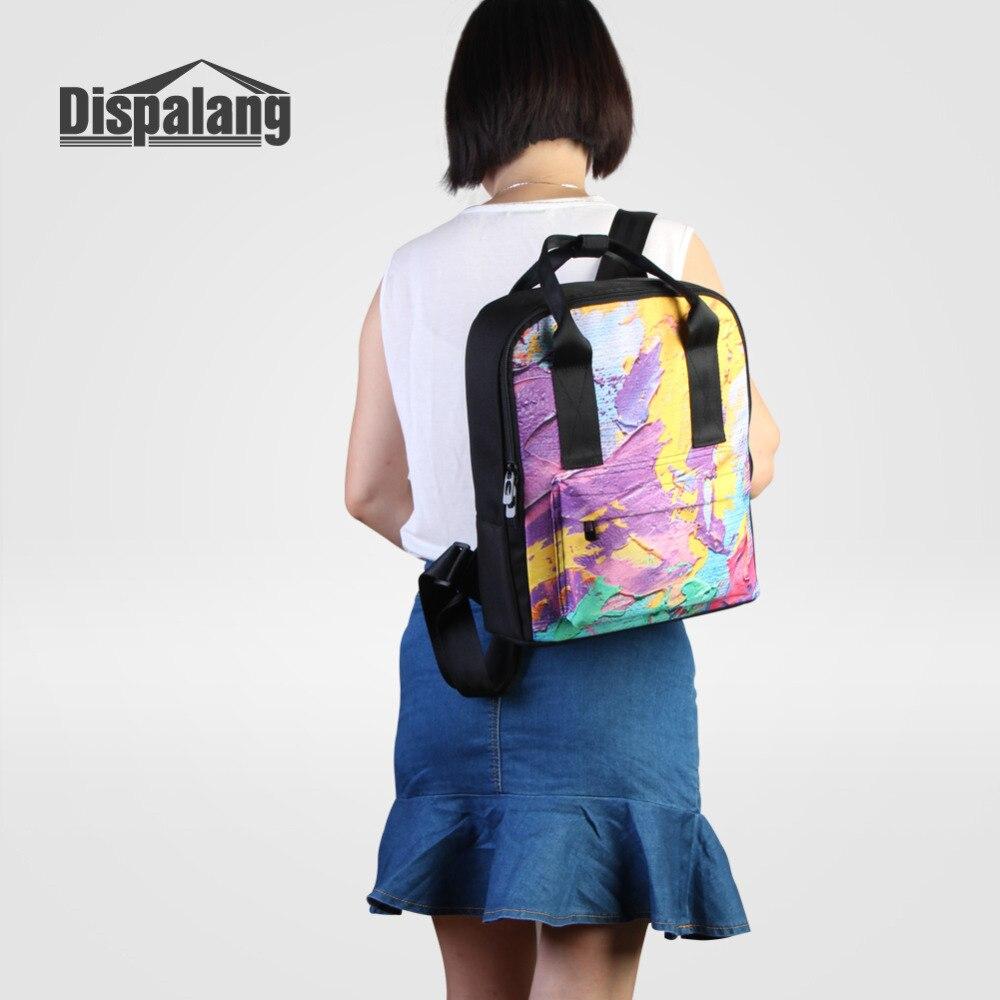 Dispalang Orange Women Backpack Fruits Print Laptop Backpack Female School  Bag Girls College Student Casual Travel Shoulder Bag-in Backpacks from  Luggage ... 58d80d5d561e6
