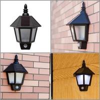 Newest Solar Power Street Light PIR Motion Sensor Light Garden Security Lamp Outdoor Street Waterproof Wall