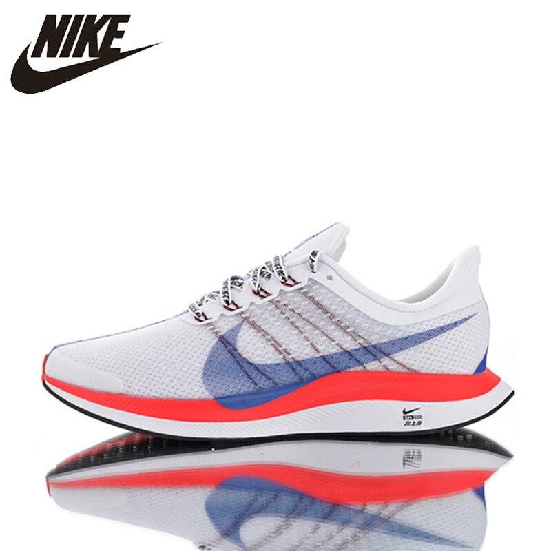 Original Nike Zoom Pegasus Turbo 35 Men's Running Shoes, Wear-resistant Shock Absorbing Breathable Lightweight BQ6895-100