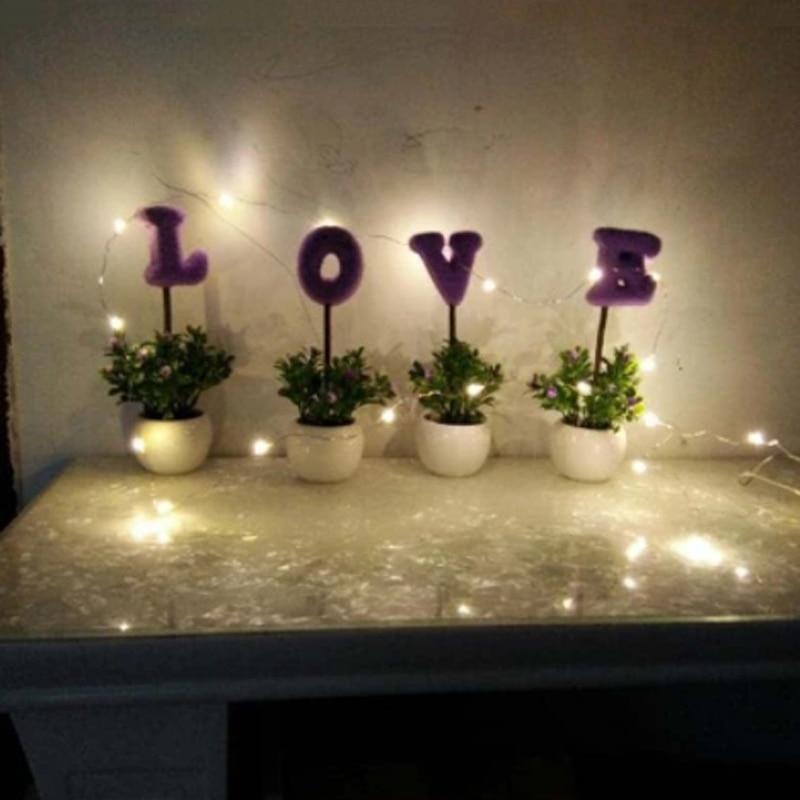 10M 100 LED Solar Power LED String Fairy Light Christmas Party Garden - Pencahayaan perayaan - Foto 4