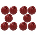 10pcs M6 x 25mm Ball Knob 6mm Thread 25mm Ball Diameter Bakelite Red Ball Lever Knob for Machine Tools Replacement