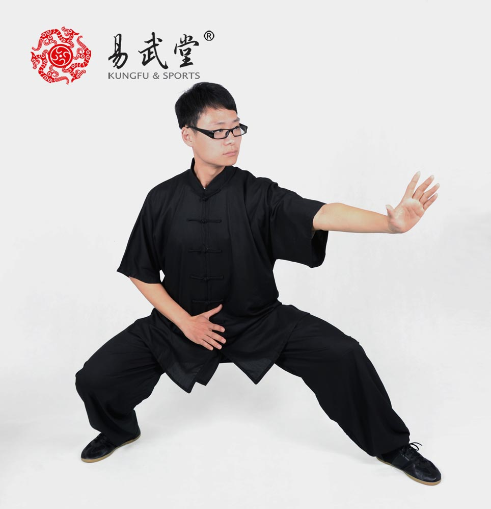 ФОТО YWT63 tai chi clothing summer wushu suits Chinese kung fu clothes free shipping