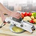 Многофункциональная кухонная ручная овощерезка  резак для фруктов  регулируемая нержавеющая сталь  мандолина  терка  инструмент для пригот...