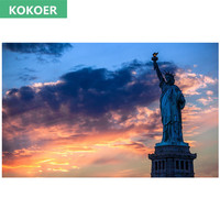 5D DIY Diamond Painting Diamond Embroidery New York Statue Of Liberty Decorative Pictures Rhinestones And Crafts