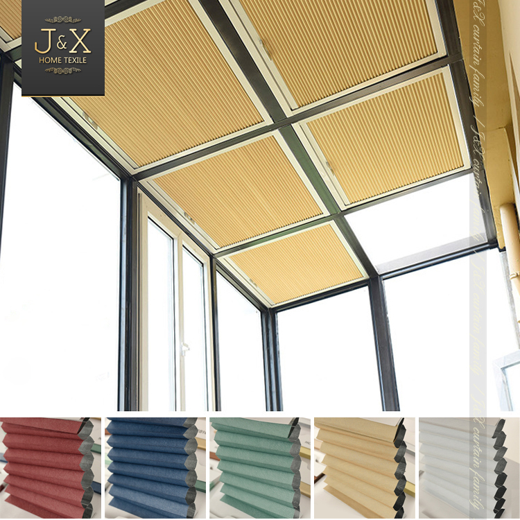 New Arrival Water Proof 100% Blackout Honeycomb Blinds Foldable Sunshade Canopy Curtains Window Blinds Customized Free Shipping-in Curtains from Home ... & New Arrival Water Proof 100% Blackout Honeycomb Blinds Foldable ...