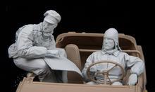 120mm resina figura modelo kit unassambled sem pintura 16181