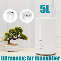 BECORNCE Silent 5L Ultrasonic Air Humidifier Aroma Essential Oil Diffuser for Home Office Car Fogger Mist Maker
