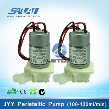 Bomba micro peristáltica jyy de 24v para xenons allwin sky-color eco solvente máquina de impresión (100-130 ml/min)