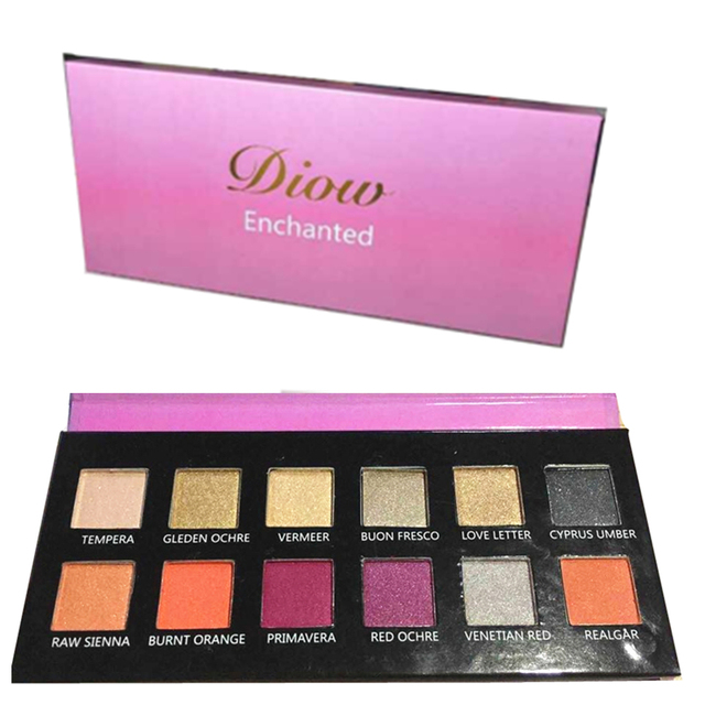 DIOW Brand Makeup Eyeshadow Pallete professional nake matte eye shadow makeup pallete