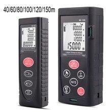 Laser Distance Meter 40m-60m-80m-100m-120m-150m Laser Rangefinders  Measure Area/Volume Electronic Ruler tool