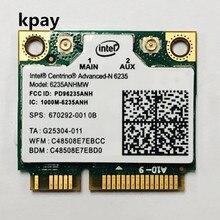 Двухдиапазонный 300 Мбит/с 6235 ANHMW мини PCI E ноутбук беспроводная WiFi карта для Intel центрино advanced N 6235 Bluetooth 4,0 сетевая карта