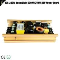 HK 600W 600w PFC Electrical Power Board 10r 280w 15r 300w Beam Moving Head Light Power Board Supply 380v 36v 24v 12v