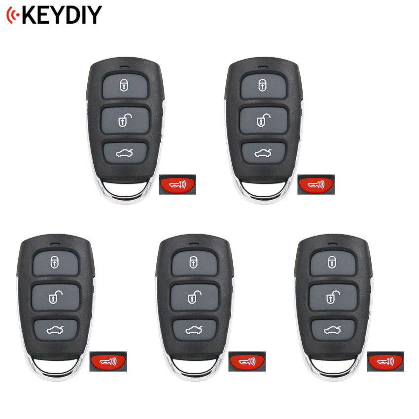 5pcs lot Original KEYDIY 4 Buttons B20 3 1 Style Universal Remote Control Key B Series