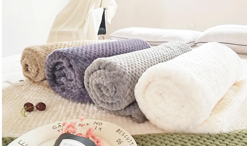 Manta Cobertor Casal ou Bebe 17