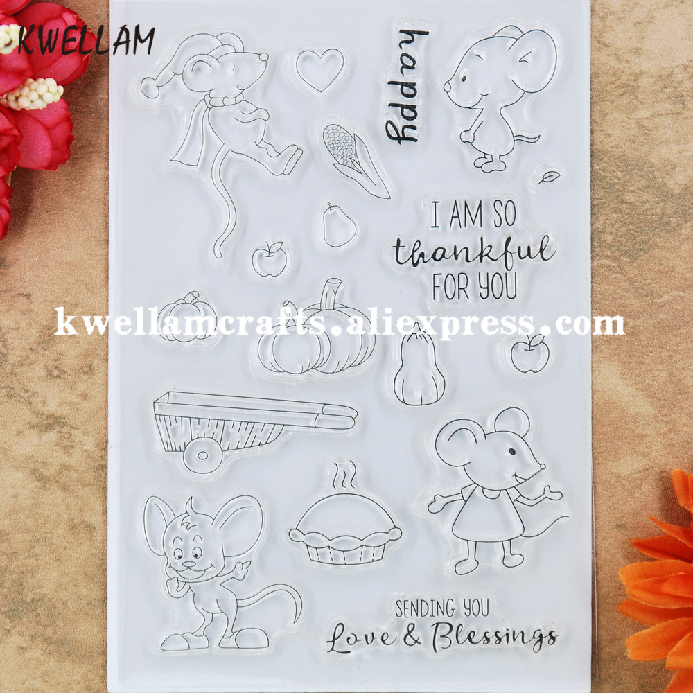 KWELLAM Sweet Girl Work Hard Be Nice you can Believe Heart Clear Stamps for Card Making Decoration and DIY Scrapbooking