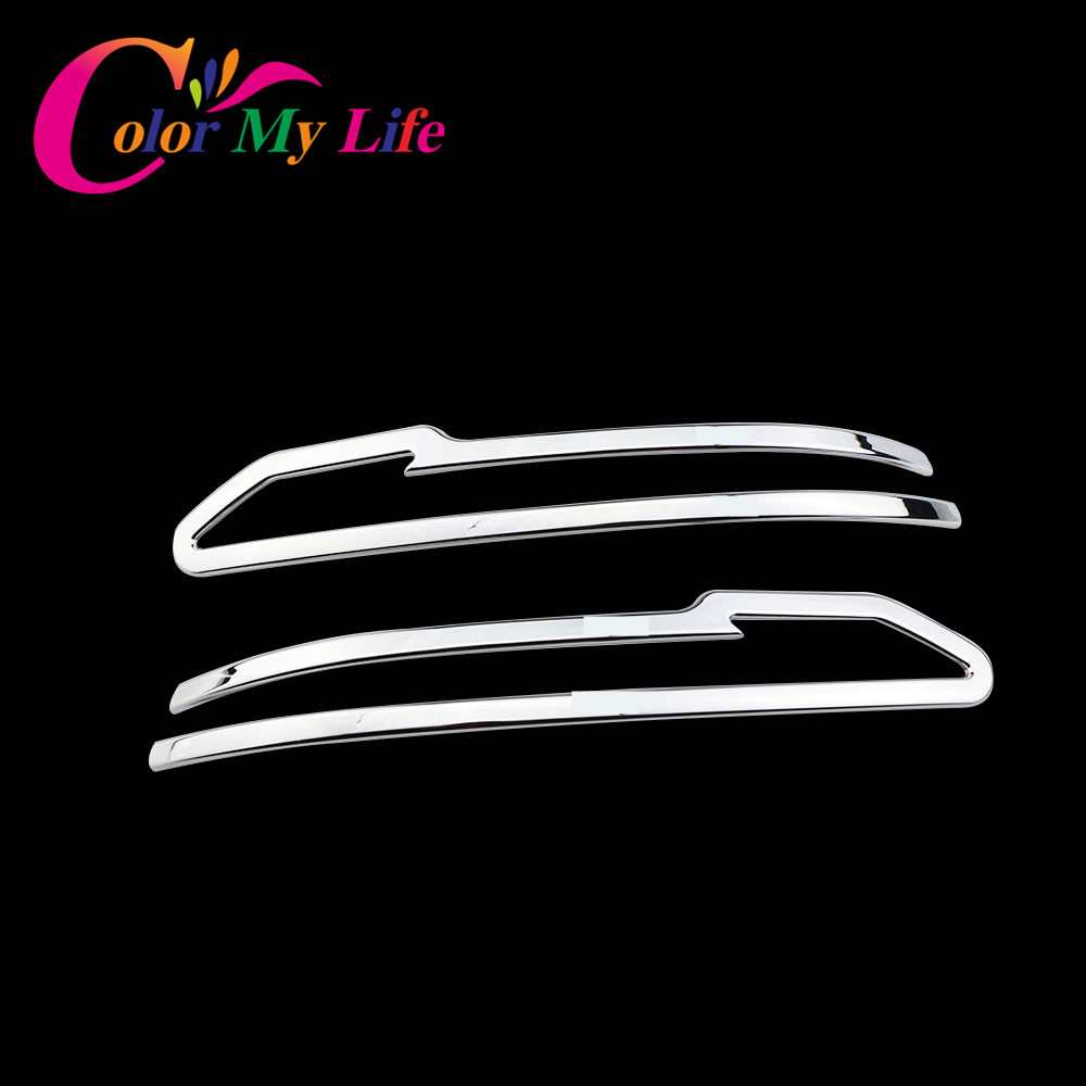 Color My Life Rear Side Rearview Mirror Cover Trim Sticker For Nissan X-trail Xtrail T32 For Qashqai J11 Murano 2015 2016 abs chrome door body side molding trim cover for nissan x trail x trial xtrail t32 2014 2015 2016 2017 car styling accessories