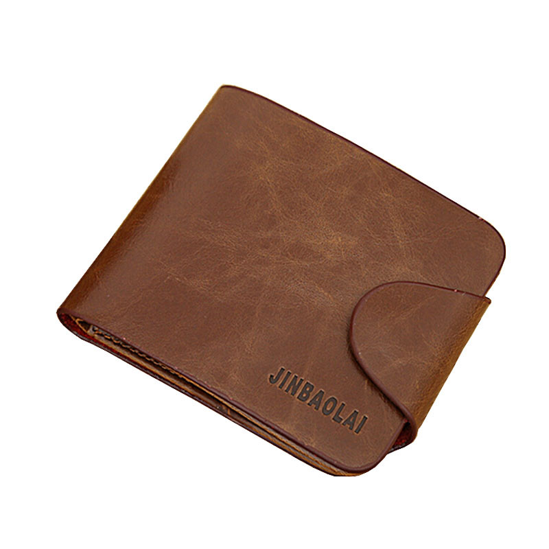 Mens Wallet Gentleman Coffee PU Leather Bifold Zipper Pocket Purse ID Credit Card Holder for Clutch Pouch Coin Bag carteira gift brand new slim credit card holder mini wallet mens leather id case coin purse bag pouch masculina gift wholesale free shipping