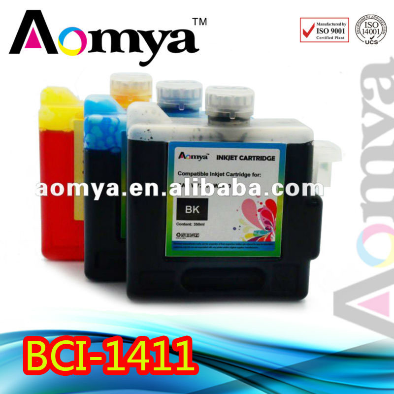 Black Color BCI1411 Wide Format ink Cartridge for Canon W7200/W8200