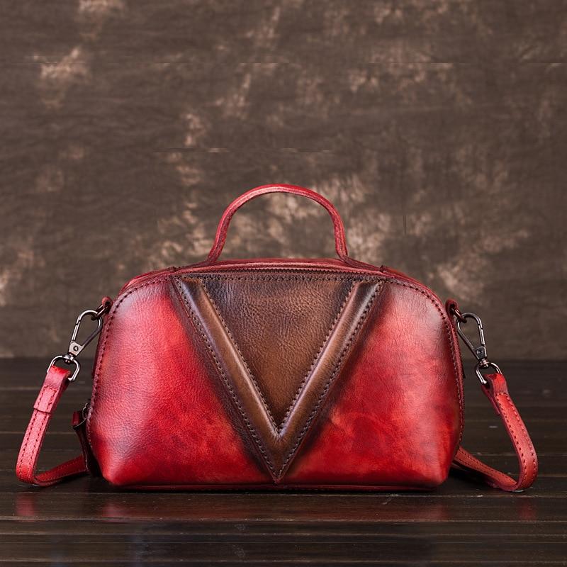 Femmes rouge Vintage bleu ardoisé Bandoulière Femme 2019new Mode Main À vert Sacs Sac Khaki Voyage Filles fxqdZ4wZ0