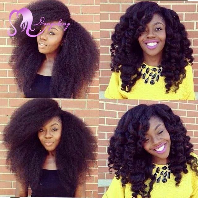 Afro Twist Kinky Marley Ombre Kanekalon Braiding Hair 18 100g