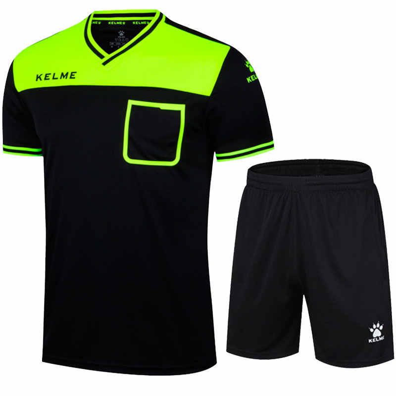 ff6112f7e ... Referee jersey Professional Uniform football Soccer Jersey Sets KELME  K15Z221 ...