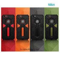 Brand new nilkin المدافع 2 درع حامي عودة حالة الغطاء لتفاح iphone 6 فون 6 زائد الهاتف الخليوي عودة حالة
