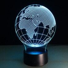 Acrylic Small Night font b Light b font Africa Map font b LED b font font