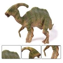 Actionamptoy Figures Jurassic Parasaurolophus Dragon Dinosaur Pvc Dolls Animal Furnishing