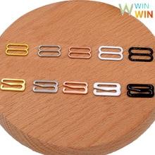Wholesale 10 sets( 20 pieces ) Various sizes of Bra Strap Adjuster Sliders/Hooks Lingerie Sewing Crafts 5 color
