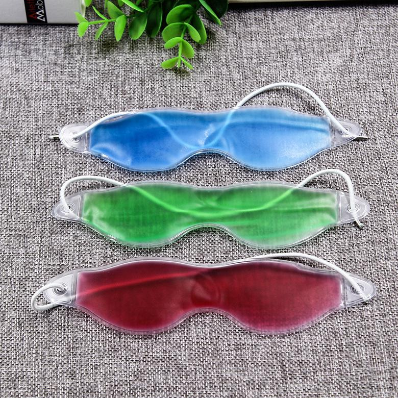 Gel Eye Mask Reusable Hot / Cold Therapeutic Patch Gel Pack For Migraine Eyes Fatigue Pain Relief Summer Outdoor Sleep Shade Ice