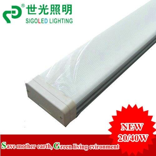 Price-4FT entier 1.2 m 40 W led double tube, éclairage de tube, lumière Tri-preuve, étanche à l'humidité et à la poussière, 3200-3600lm