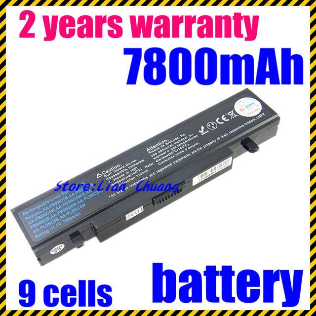 Jigu rv513 nueva 6600 mah batería del ordenador portátil para samsung aa-pb9nc5b aa-pb9nc6b R518 R519 R520 R522 R540 R580 R610 R620 R700 r425 r430