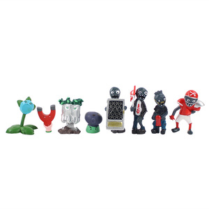 Image 5 - 14 styles Plants vs Zombies PVZ Toy Plants Zombies PVC Action Figures Toy Doll Set for Collection Party Decoration