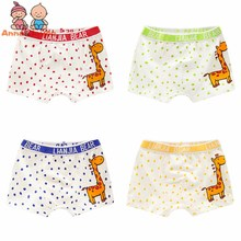 4 Pcs lot font b Boy b font Boxer Shorts Children font b Underwear b font