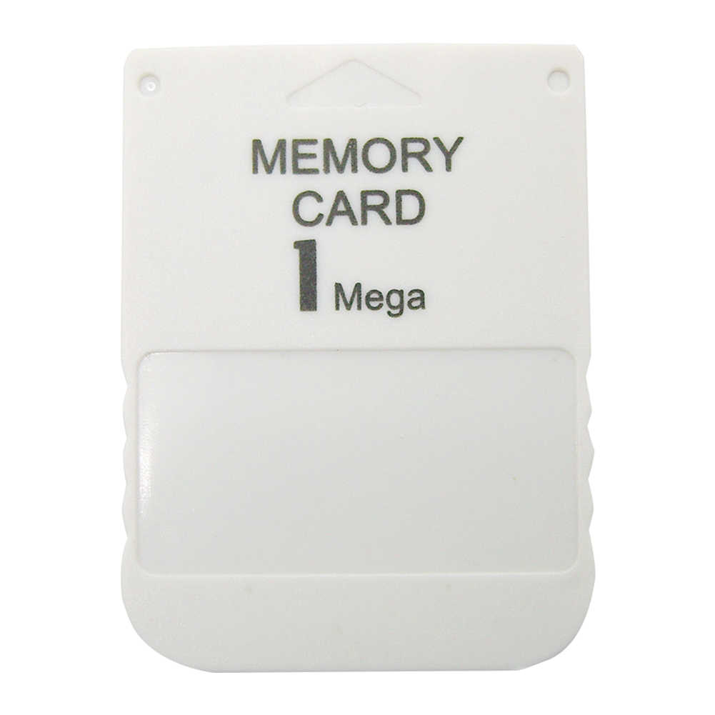 PS1 Memory Card 1 Mega Memory Card For PlayStation 1 One PS1 PSX