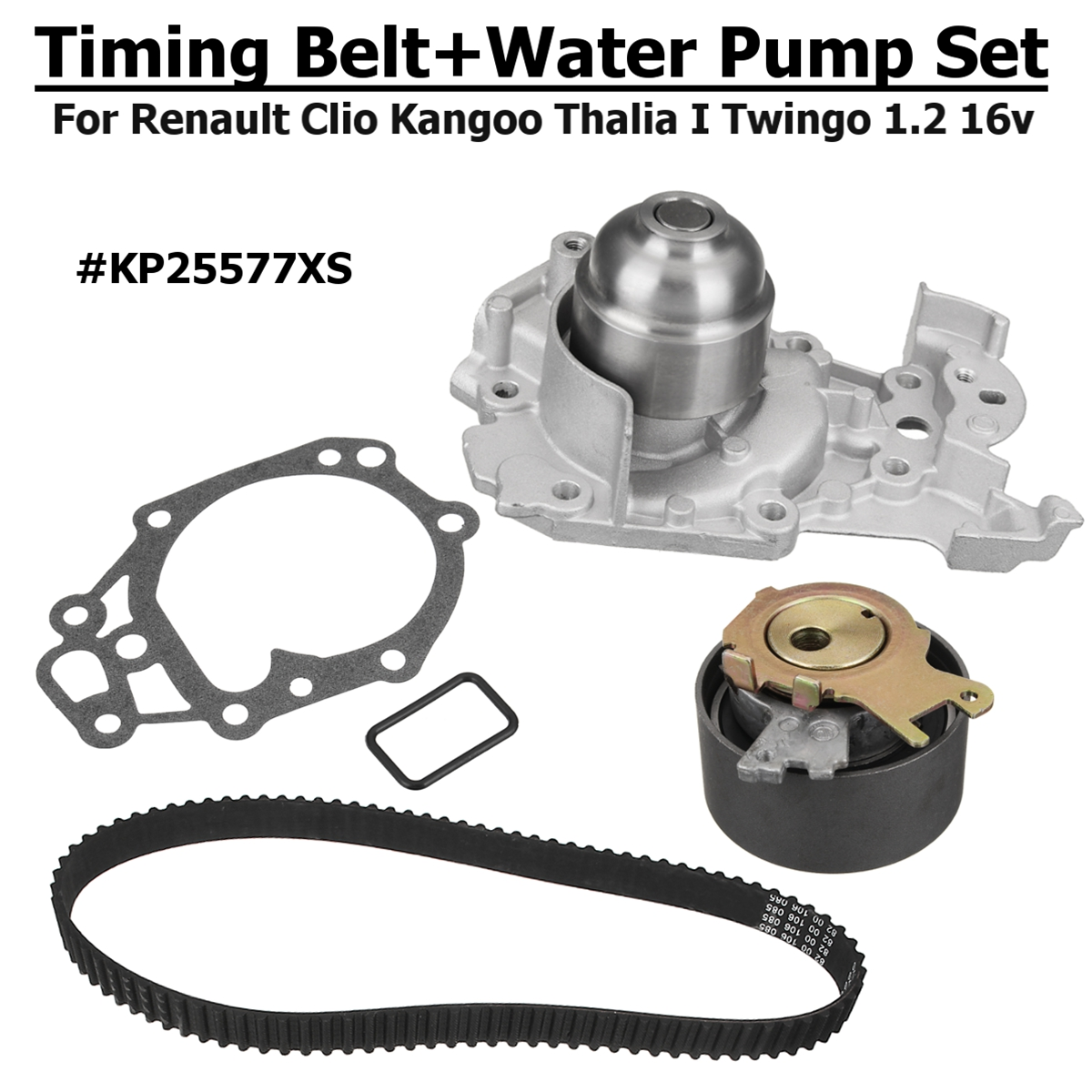 1.2 16v Gates Timing Belt+Water Pump #KP25577XS For Renault Clio Clio  Grandtour Kangoo Modus/Grand Modus Thalia Thalia I-in Water Pumps from  Automobiles ...