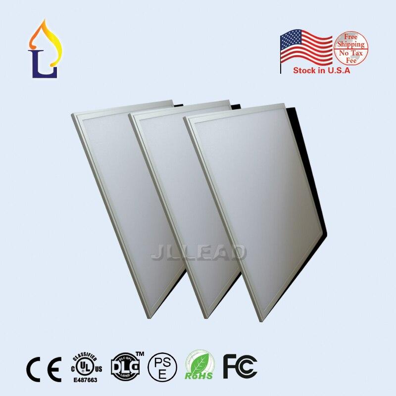 (2 pcs/lot) 40 W SMD2835 encastré Led plafonnier cadre blanc lumière vers le bas UL 2*2 2ft * 2ft hangin 110LM/W panneau carré Led lumière