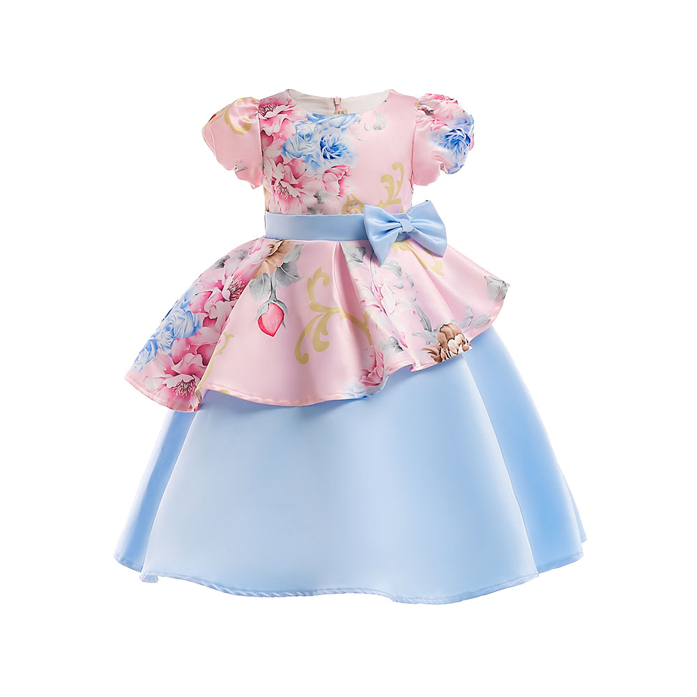 bd38484f46c Платья с цветочным узором для девочек