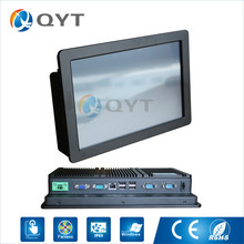 Fanless 11.6″ All In One PC Touch Screen Low power consumption Inter N2807 1.6GHz 3RS232 1RJ-45