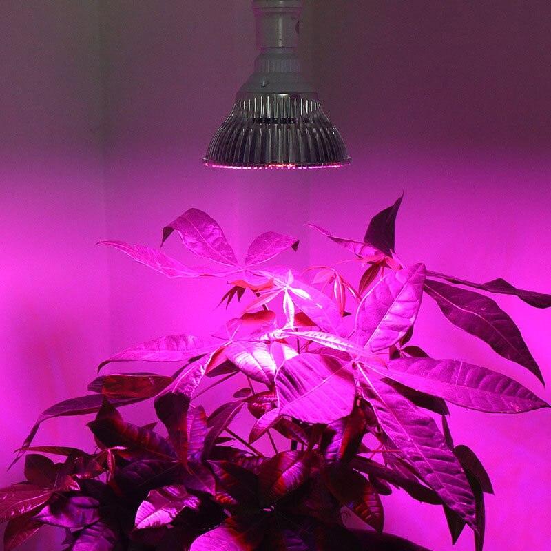 8/10/30/50/80W LED Plant Grow Light E27 Lamp Bulb Full Spectrum For Plant Hydroponic LO88