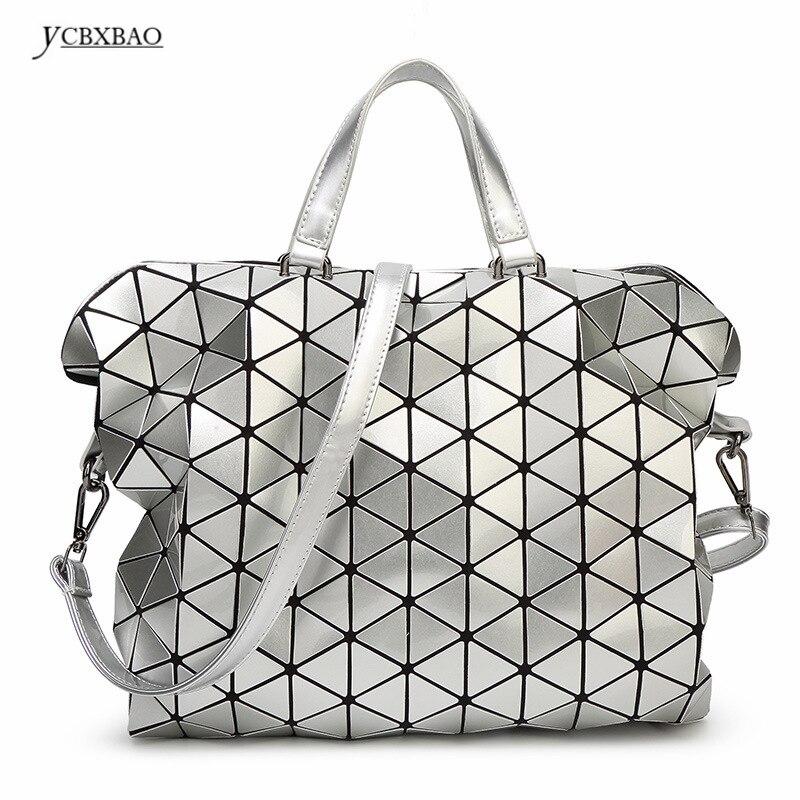 Защитный Бостон треугольной решетки женские и мужские Портфели ромб сращивания Мода BAOBAO девушка или OL женские сумки для из Японии