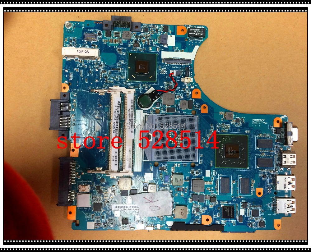 original MBX-240 LAPTOP MOTHERBOARD FOR SONY V061 MAIN BOARD A1830926A 1P-0113J01-8011  100% Test ok