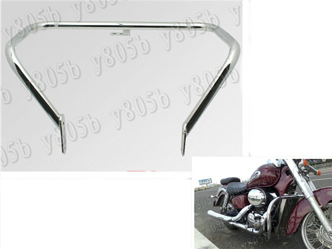 Chrome Engine Guard Highway Crash Bar For Honda Shadow Aero VT750 VT750C VT400 2004-2013 2005 2006 2007 2008 2009 2010 2011 2012