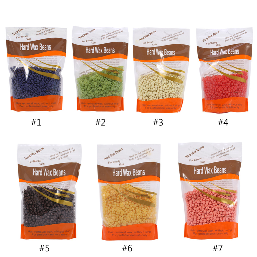 Blue Zoo Wax Bean 7 Flavors 300g/Bag Beauty Salon Depilatorys